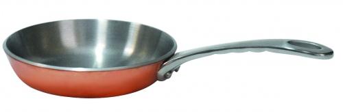 Мини-сковородка/кокотница нерж.сталь