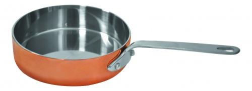 Сковородка для подачи нерж. сталь V=300мл