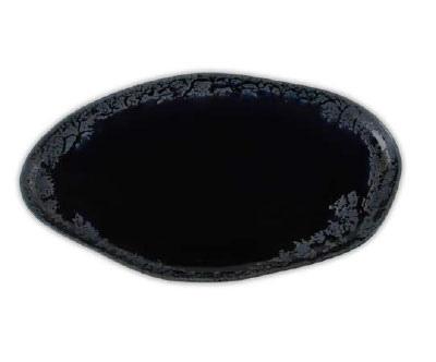 """Тарелка овальная """"волнообразная"""" 27CM"""