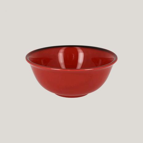 Салатник, 16см (красный цвет)
