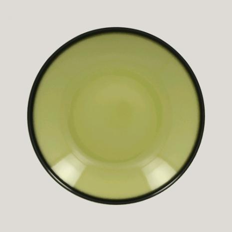 Тарелка глубокая, 26см (зеленый цвет)