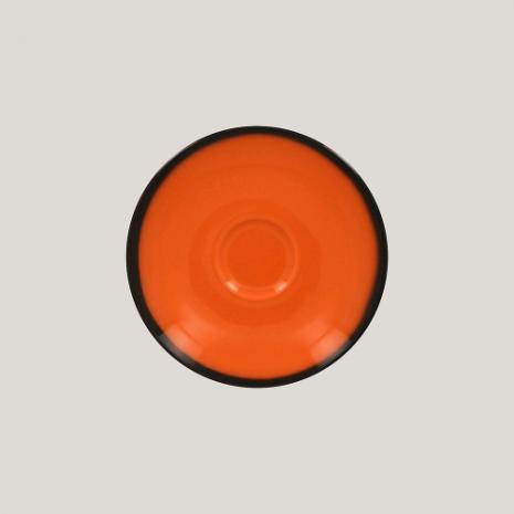 Блюдце, 15см (оранжевый цвет) к чашке 81223536