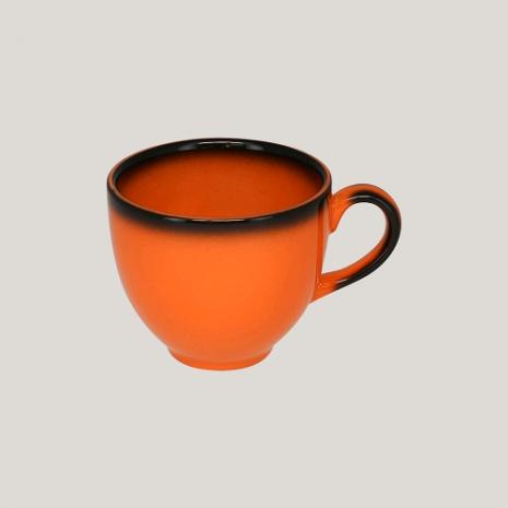Чашка 280 мл (оранжевый цвет)