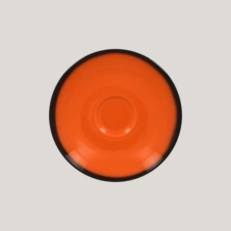 Блюдце, 17см (оранжевый цвет) к чашке 81223534