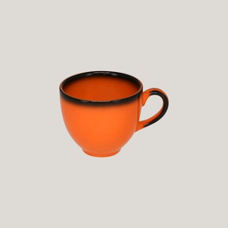 Чашка 200 мл (оранжевый цвет)