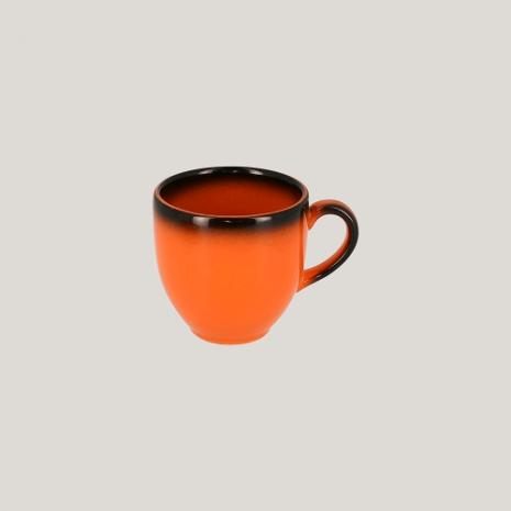 Чашка 90 мл (оранжевый цвет)