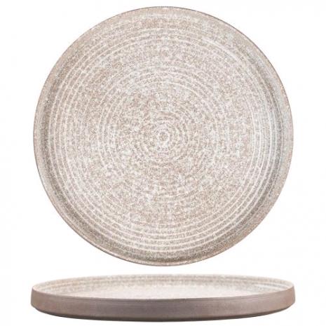 Тарелка с бортом Untouched Taiga 26*1,8 см