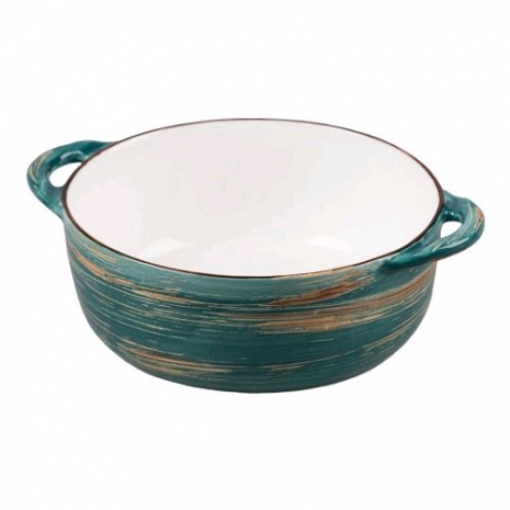 Чашка для супа Texture Dark Green Lines 580 мл d 145 мм