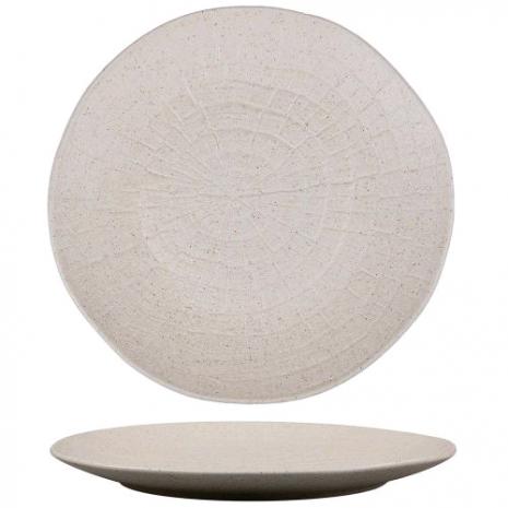 Тарелка для подачи Elephant Ivory 21*3 см
