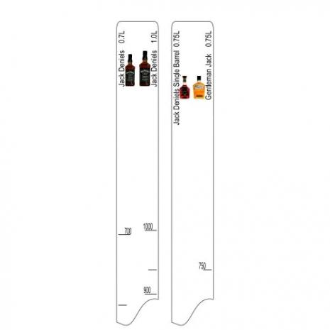 Барная линейка Jack Deniels (700мл/1л) / Single Barrel (750мл) / Gentleman Jack (750мл)