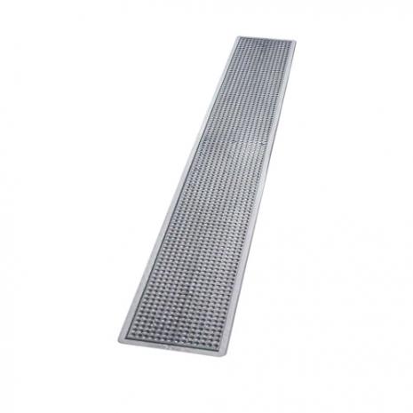 Барный мат The Bars серебро, 70*10 см