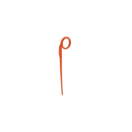 Пика коктейльная The Bars оранжевая, пластик, 100 шт