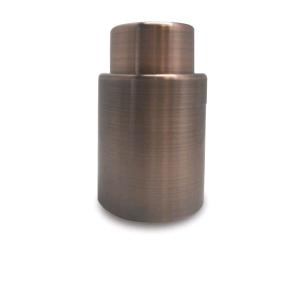 Пробка вакуумная нерж. 70 мм с покрыт. под медь VB /1/12/