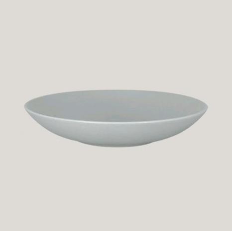 Тарелка NeoFusion Mellow Pitaya grey глубокая круглая, 26 см, 1200 мл