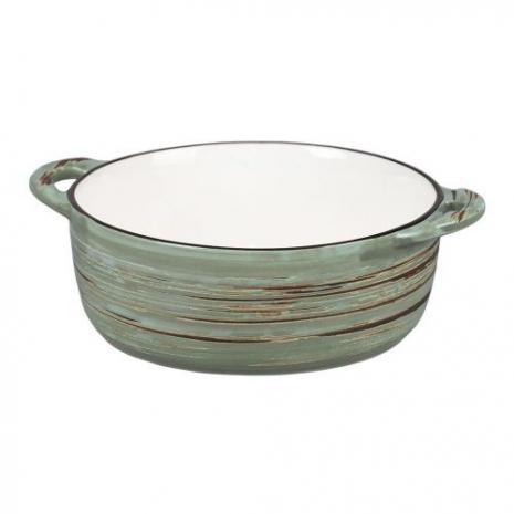 Чашка для супа серия Texture Light Green Lines