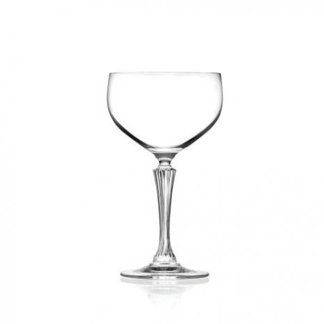 Бокал блюдце для шампанского RCR Luxion Glamour 460 мл