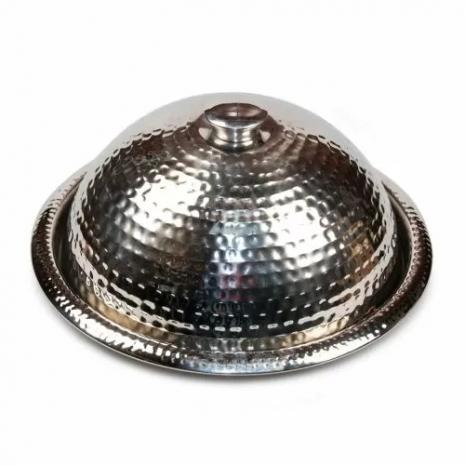 Клош (баранчик) + блюдо P.L. Proff Cuisine, d 35 cм, нержавейка