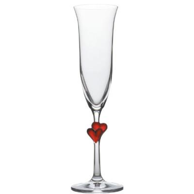 Бокал для шампанского (набор 2 шт) D=70 H=242мм (175мл)17.5 Cl., Стекло, L'Amour