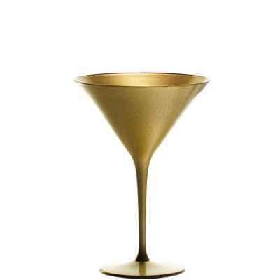 """Бокал Для Мартини D=116мм,H=172мм,24 Cl., Стекло,Цвет """"Gold"""", Bar"""