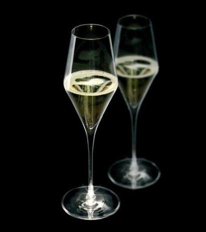 Бокал Для Шампанского Набор 2 шт  (Ножка Подсвечивается)29 Cl., Стекло, HighLight