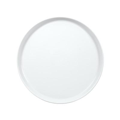 BLB27DU00 Тарелка Круглая Борт Вертикальный D=27 См., Плоская, Фарфор Молочно-Белый , Bilbao