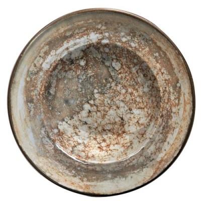 "GBSBAS26CKR1475 Тарелка Круглая Глубокая D=26 См., ""Gourmet"", Фарфор, Цвет Корич.Комб., Mars R1475"