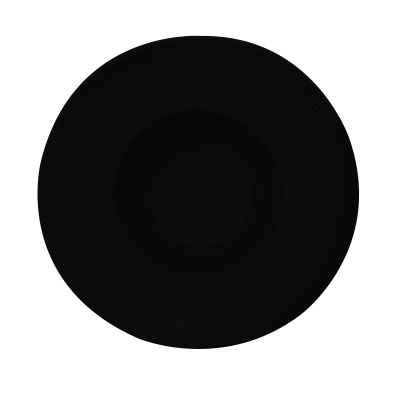 NBNEO28DU141SYH Тарелка Круглая D=28 См., Плоская, Фарфор,Цвет Черный