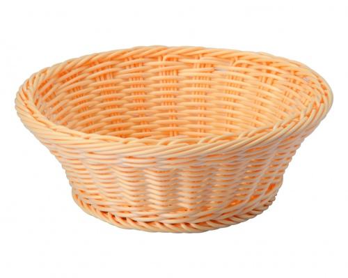 Хлебница плетен.ротанг беж.круглая d=23.h=7