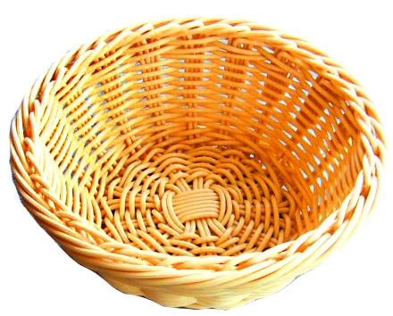 Хлебница плетен.ротанг беж.круглая d=19.h=7