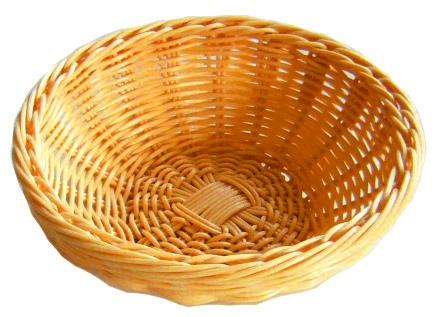 Хлебница плетен.ротанг беж.круглая d=18.h=6