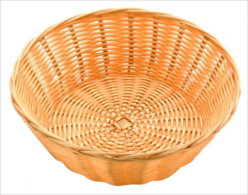 Хлебница плетен.ротанг беж.круглая d=20.h=7