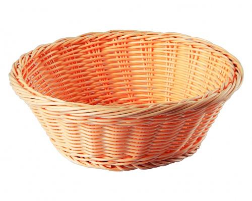 Хлебница плетен.ротанг беж.круглая d=20.5.h=7.5