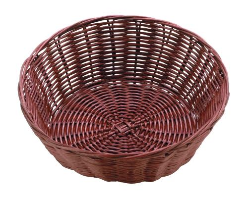Хлебница плетен.ротанг коричневая.круглая d=20.h=7