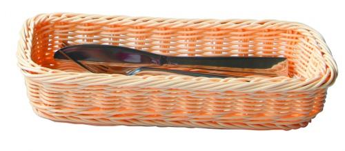Хлебница плетен.ротанг беж.прямоуг. 27*10*5