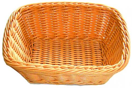 Хлебница плетен.ротанг беж.прямоуг.23*19*8