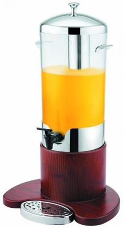 Диспенсер для сока, молока с деревянным корпусом    V, л 5