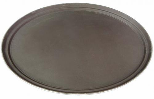 Поднос официанта овальный, полностью прорезиненный    L/W, см    68/56