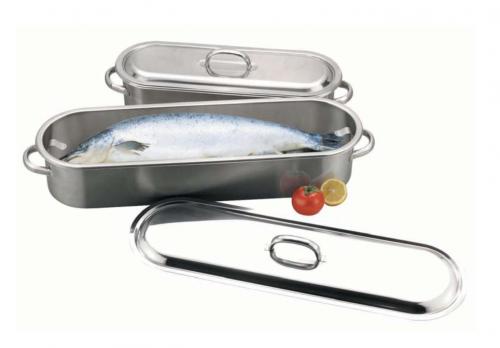 Котел для приготовления рыбы и рулетов h-10,5 см