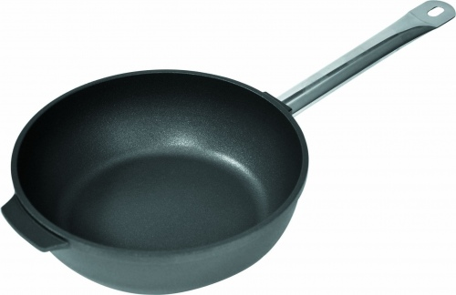 Сковорода, высокий борт D=32см H= 8,2см