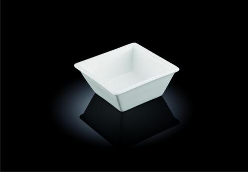 Салатник 110*110 мм. квадр. h=45 мм. 265 мл. Wilmax /6/48/