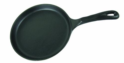 Сковорода чугунная для блинов d-см 20 h-2.5см