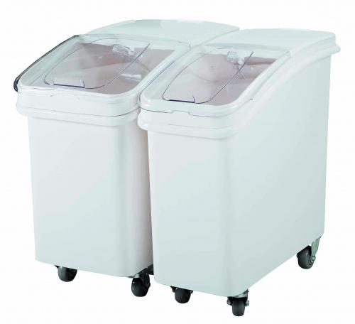 Контейнеры для хранения сыпучих продуктов на колесах, пластик 40х75, H 71 V=102 л