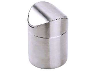 Настольное ведерко  д/мусора, d 11,5/ h 17см   P.L.