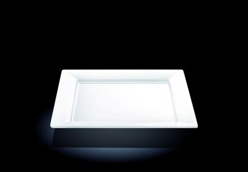 Тарелка квадр. 250*250 мм. Wilmax /3/18/