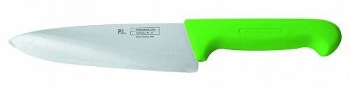 Нож поварской «Шеф», зеленый L=25 см