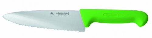 Нож поварской с волнистым лезвием, зеленый L=25 см