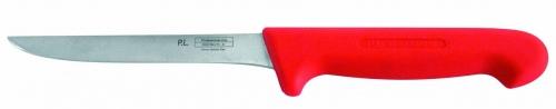 Нож обвалочный, красный L=15 см