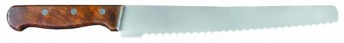 Нож кондитерский с дерерянной ручкой L=25 см