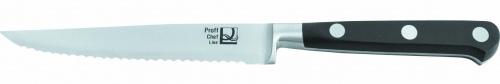 Нож кованый поварской с зубцами L=12,5 см