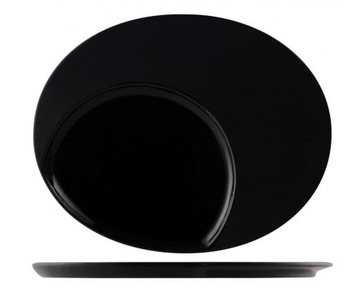 Тарелка овальная L = 30см W=24см Внутр.овал = 20/16,5 см